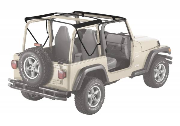 Bestop - Bestop   Bow & Frame Hardware Kit - '97-06 Wrangler TJ Exc. Unlimited (Factory Style Replacement)   55002-01