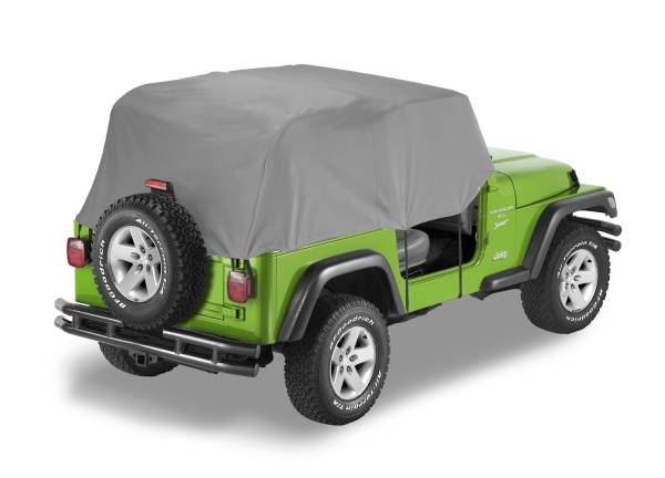 Bestop - Bestop | All Weather Trail Cover - '92-95 Wrangler YJ (Charcoal / Gray) | 81036-09