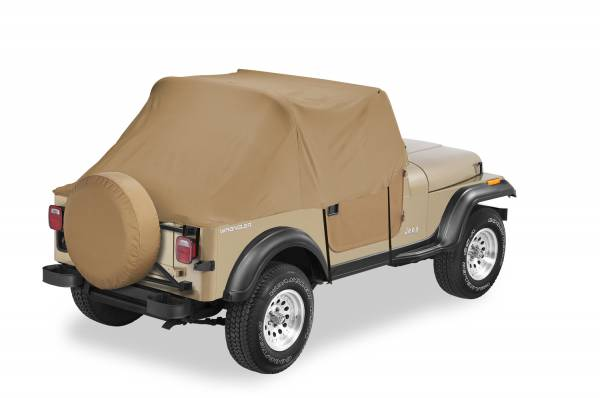 Bestop - Bestop   All Weather Trail Cover - '97-06 Wrangler TJ Exc. Unlimited (Spice)   81037-37