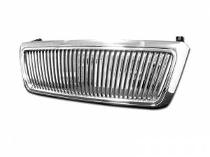 Armordillo USA | 2004-2006 Ford F-150 Vertical Style Front Grille (Chrome) | 7148192