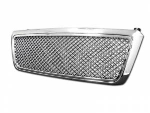 Armordillo USA | 2004-2008 Ford F-150 Mesh Style Front Grille (Chrome) | 7148215