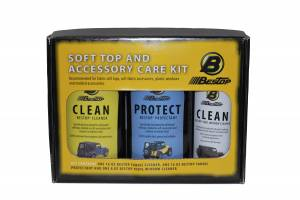 Bestop | Bestop Cleaner/Protectant Pack - Includes 3-pack: one each cleaner, protectant, window polish (boxed) price is for one pack | 11215-00