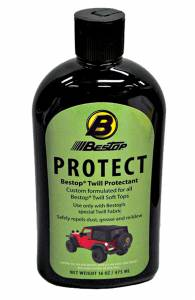 Bestop | Bestop Protectant for Black Twill Fabric - One 16-oz. bottle (boxed) | 11217-00