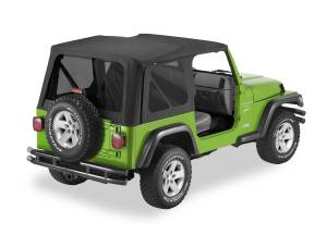 Bestop | Replace-A-Top For OEM - '03-06 Wrangler TJ Exc. Unlimited (Black Diamond / Tinted Windows / No Door Skins Included) | 51193-35