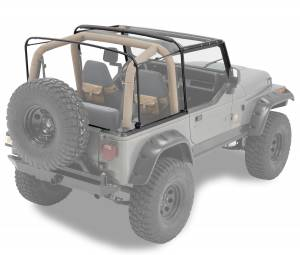 Bestop | Bow & Frame Hardware Kit - '88-95 Wrangler YJ (Factory Style Replacement) | 55004-01
