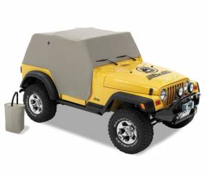 Bestop - Bestop   All Weather Trail Cover - '97-06 Wrangler TJ Exc. Unlimited (Charcoal / Gray)   81037-09 - Image 2