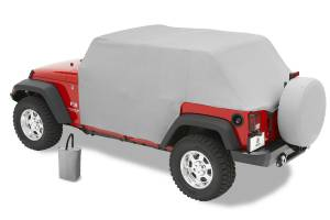 Bestop | All Weather Trail Cover - '04-06 Wrangler TJ Unlimited (Charcoal / Gray) | 81038-09