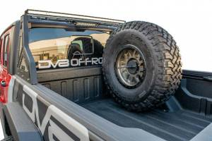 DV8 Offroad | Stand Up Spare Tire Mount | TCGL-02