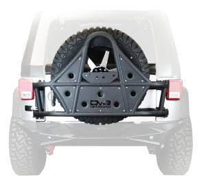DV8 Offroad | Body Mount Tire Carrier; Tc1 | TCSTTB-01