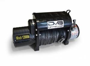 DV8 Offroad   12,000 lbs. Winch with Synthetic Rope   WB12SR