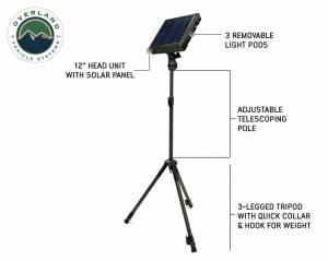 Wild Land Camping Gear - Encounter Light With 3 Removeable Pods