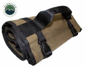 Rolled Bag General Tools With Handle And Straps - #16 Waxed Canvas