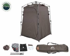 Wild Land Camping Gear - Changing Room With Shower and Storage Bag