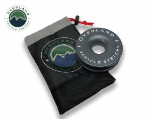 """Recovery Ring 4.00"""" 41,000 lb. Gray With Storage Bag"""