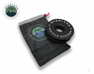 """Recovery Ring 6.25"""" 45,000 lb. Black With Storage Bag"""
