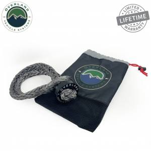 """Soft Shackle 7/16"""" 41,000 lb. With Collar - 22"""" With Storage Bag"""