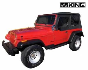 Replacement Soft Top in Black Diamond - YJ