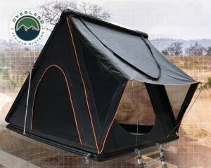 Mamba III Aluminum Roof Top Tent -Black Shell & Black Body 3 Person Large